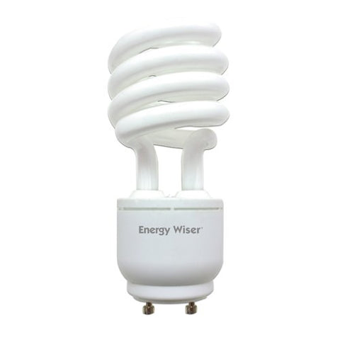 Bulbrite CF23WW/GU24/DM-6PK GU24 Base 23W 120V Energy Wiser Dimmable Compact Fluorescent Coil, Warm White, 6-Pack - llightsdaddy - Bulbrite - Compact Fluorescent Lamps