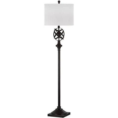 Safavieh Lighting Collection Franklin Armillary Oil-Rubbed Bronze 60-inch Floor Lamp - llightsdaddy - Safavieh - Lamp Shades