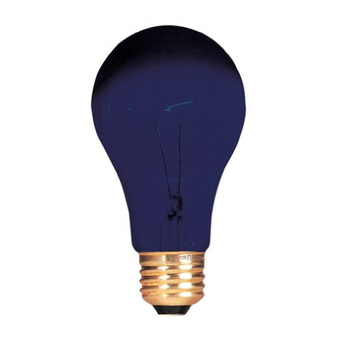 Bulbrite Incandescent A19 Medium Screw Base (E26) Black Light Bulb, 75 Watt
