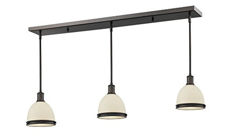 3 Light Island/Billiard Light 713MP-3OB - llightsdaddy - Z-Lite - Pendant Lights