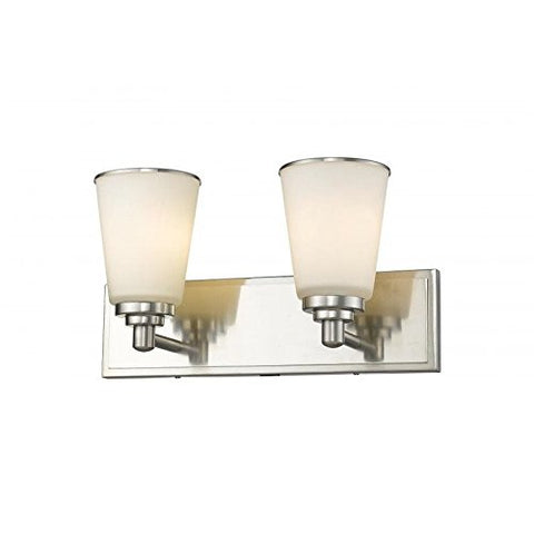 2 Light Vanity Light 432-2V-BN - llightsdaddy - Z-Lite - Vanity Lights