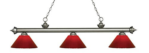 3 Light Billiard Light 200-3AS-PRD