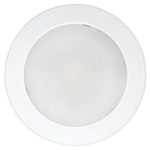 "Feit Electric 73994 60W Equivalent 12 Watt 7.5 inch Round Shape 800 Lumen, Life Hours up to 50000, Flush Mount LED Recessed Ceiling Dome Fixture, 7.5"" D, 2700K Soft White"