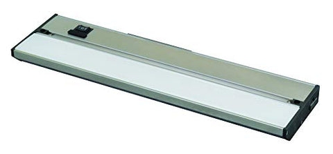 lighting by afx nllp2-32ba noble pro led under cabinet light, brushed aluminum