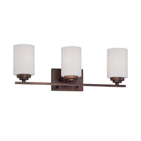 Millennium 3183-RBZ Three Light Vanity Bronze/Dark