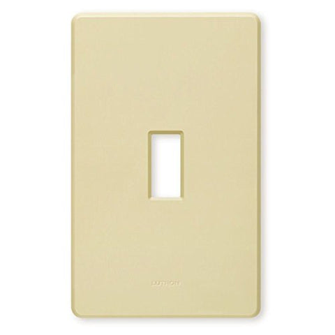 Lutron FW-1-IV Single Gang Toggle Light Switch Wall Plate - llightsdaddy - Lutron - Wall Plates