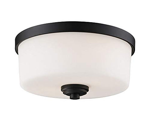 2 Light Flush Mount 220F2 - llightsdaddy - Z-Lite - Flush mounts