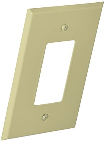 Morris 83743 Painted Steel Wall Plate, Oversize Decorative/GFCI, 1 Gang, Ivory - llightsdaddy - Morris - Wall Plates