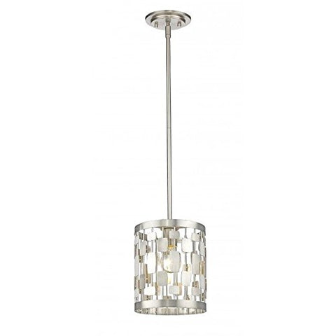1 Light Mini Pendant 430MP-BN - llightsdaddy - Z-Lite - Pendant Lights