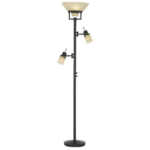Pacific Coast Lighting Techno Chic Torchiere Lamp - llightsdaddy - Pacific Coast Lighting - Lamps
