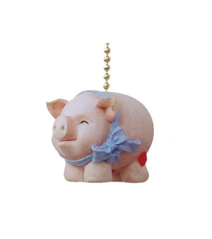 Clementine Designs Whimsical Pig Piggy Piggie Kitchen Ceiling Fan Light Pull - llightsdaddy - Clementine Designs - Pull Chains