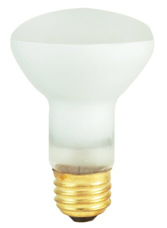 25 Pack 45 Watt R20 Medium Base Flood 130 Volt 4000 Hour Reflector Lightbulb - llightsdaddy - Bulbrite - Wall Plates