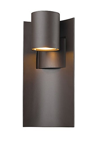 Z-Lite 559M-DBZ-LED 1 Light Outdoor, Deep Bronze - llightsdaddy - Z-Lite - Flush mounts