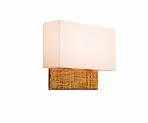 Kalco Lighting Kalco 504421GL Transitional LED Wall Bracket from Cestino Collection in Gold, Champ, Gld Leaf Finish