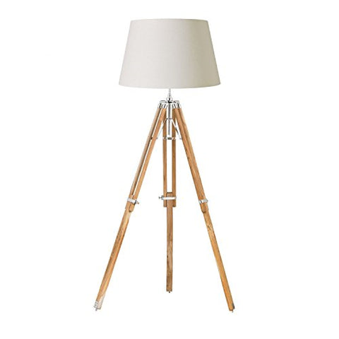 Royal Tripod Floor Lamp Base Finish: Natural  THORINSTRUMENTS (with device) Lamp Shades llightsdaddy.myshopify.com lightsdaddy
