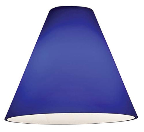 Inari Silk - Shade - Cobalt Glass Finish - llightsdaddy - Access Lighting - HI - Lamp Shades