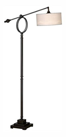 Levisa Brushed Bronze Floor Lamp - Uttermost 28082-1