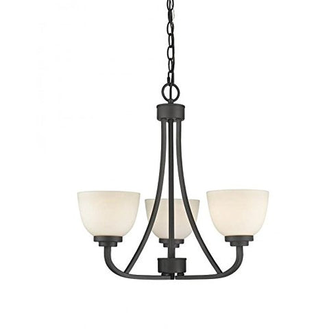 3 Light Chandelier 443-3-BRZ