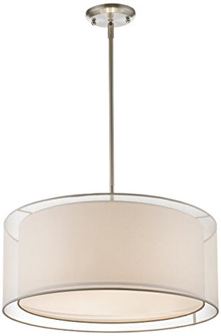 3 Light Convertible Pendant 192-24W-C - llightsdaddy - Z-Lite - Pendant Lights