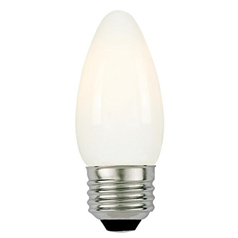 Westinghouse Lighting 5020000 60-Watt Equivalent B11 Dimmable Soft White Filament LED Light Bulb with Medium Base
