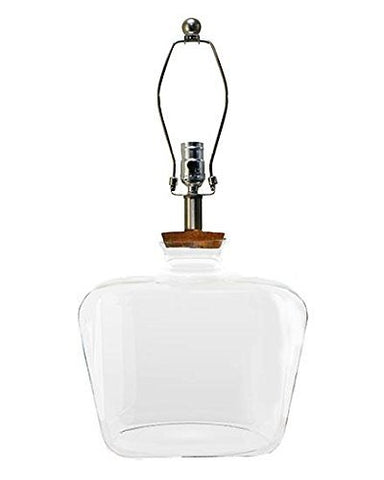 AHS Lighting L2257CL Clearview Glass Table Lamp