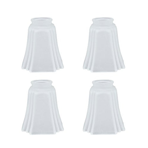 Aspen Creative 23028-4 Transitional Style Replacement Glass Shade, Frosted