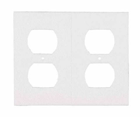 MD Building Products 44822 White Bulk Outlet Plate Sealers, 400-Pack