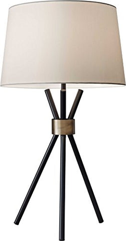 "Adesso 3834-01 Benson 25.5"" Table Lamp, Black, Smart Outlet Compatible - llightsdaddy - Adesso - Table Lamp"