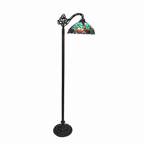 Chloe CH18780VG13-RF1 Floor Lamp, Multi-Colored