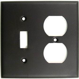 Rusticware 791ORB Double Receptacle Switch Switch Plate - llightsdaddy - Rusticware - Lightning Fixtures