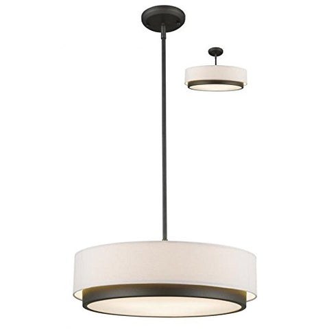 3 Light Convertible Pendant 196-22