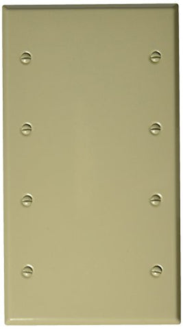 Morris 83343 Painted Steel Wall Plate, 4 Gang, Ivory - llightsdaddy - Morris - Lamp Post Mounts