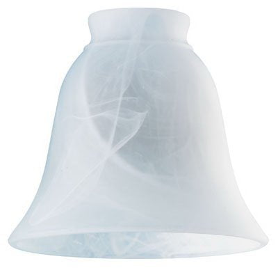 "Westinghouse 8127200 2-1/4"" Milky Scavo Bell Lamp Shade - llightsdaddy - Westinghouse - Fixture Replacement Globes & Shades"