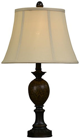 "decor Therapy TL7910 25"" Huntington Table Lamp, Bronze Finish"