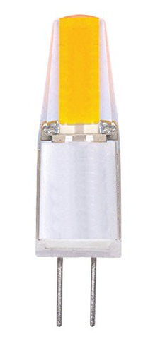 Satco S9542 G4 Bulb in Light Finish, 1.44 inches, Clear