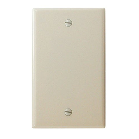 Diamond Group 52490 Ivory Blank Wall Plate - llightsdaddy - Diamond Group - Wall Plates