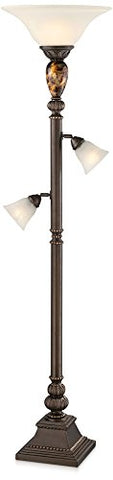 Kathy Ireland Mulholland Tree Torchiere Floor Lamp - llightsdaddy - kathy ireland - Outdoor Floor Lamps