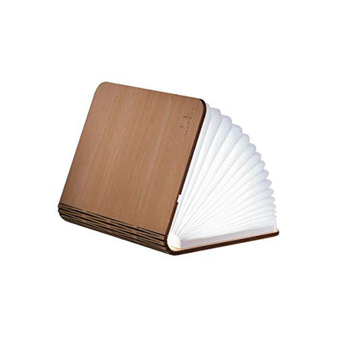 Gingko LED Mini Smart Book Desk Light with Natural Wood Effect Finish, Rechargable with Micro USB Charger, Maple - llightsdaddy - Gingko - Book Lights