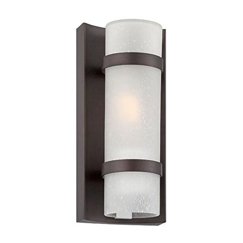 Acclaim 4700ABZ Apollo Collection 1-Light Wall Mount Outdoor Light Fixture, Architectural Bronze - llightsdaddy - Acclaim - Outdoor Porch & Patio Lights