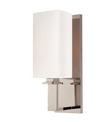 Hudson Valley Lighting 721-PN One Light Wall Sconce from The Baldwin Collection, 1, Polished Nickel