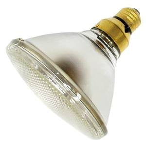 20W 12V MR16 FL35 Light Bulb with Front Glass - llightsdaddy - GE - Halogen Bulbs