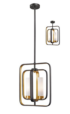 2 Light Mini Pendant 6000MP-BZGD - llightsdaddy - Z-Lite - Pendant Lights