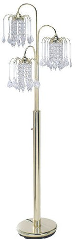 ORE International 6866G Floor Lamp, Polished Brass - llightsdaddy - ORE - Lamps