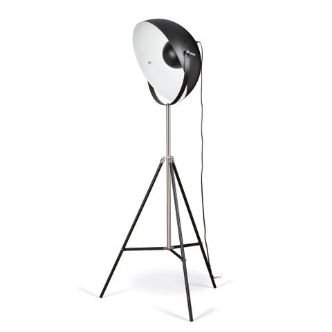 Artiva USA Jumbo Studio, Tripod Design, 72-Inch Black Metal Floor Lamp with Adjustable Dome Shade for Lighting and Picture Taking - llightsdaddy - Artiva USA - Lamp Shades