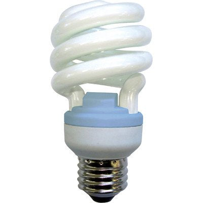 13W Spiral Reveal CFL Light Bulb - llightsdaddy - GE - Compact Fluorescent Bulbs