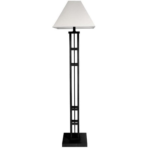 "ORIENTAL FURNITURE 62"" Mosko Floor Lamp - Black  ORIENTAL FURNITURE Lamp Shades llightsdaddy.myshopify.com lightsdaddy"