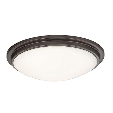 Low Profile Bronze Decorative Recessed Trim Ceiling Light - llightsdaddy - Dolan Designs - Ceiling Lights