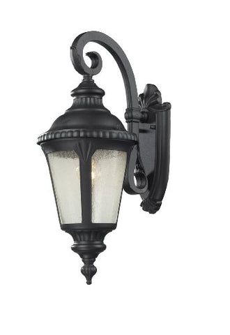 1 Light Outdoor Light 545S-BK - llightsdaddy - Z-Lite - Outdoor Porch & Patio Lights