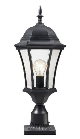 Outdoor Post Light 522PHM-BK-PM