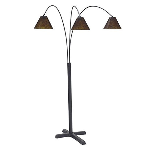 Bowery Hill Metal Arc Lamp in Black - llightsdaddy - Bowery Hill - Lamp Shades